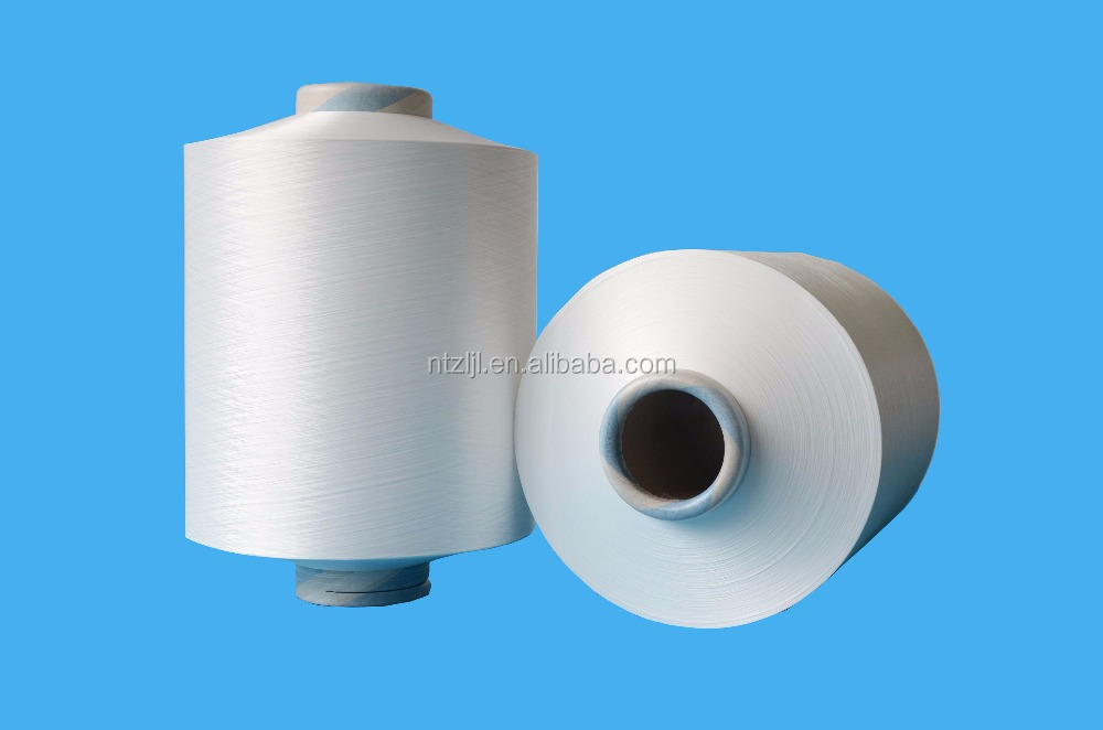 NYLON 6 DTY,SD,RAW WHITE,AA GRADE 22D/7F,PA6 Textured Stretch Twisted Yarn For Knitting & Weaving Hosiery & socks & underwear