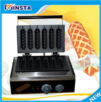 innovative products 2016 free shipping 110V 220V 240V commercial electric french hot dog lolly waffle maker for sale