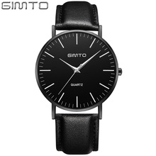 GIMTO GM227 Classic Business Wristwatches relojes Femino GIMTO Top Luxury Lady Wrist Watch Quartz Clock Lovers Couple Watch
