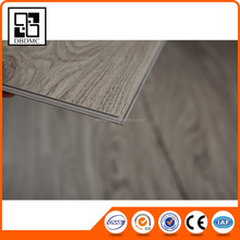 Micro Bevel Wooden Residential Unilin click free sample interior design oak engineered wood Pvc Flooring With Fiberglass
