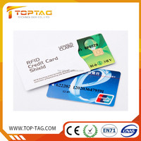 Personalized RFID Credit Card Blocking Sleeve