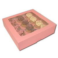 Packaging Cupcake Box, Square Cupcake Boxes