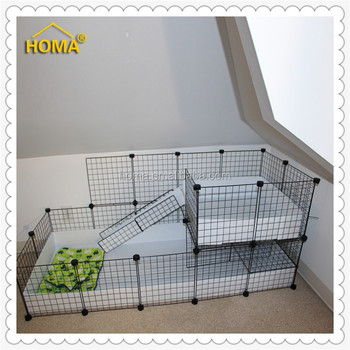 Metal wire mesh small animal pet cage panels