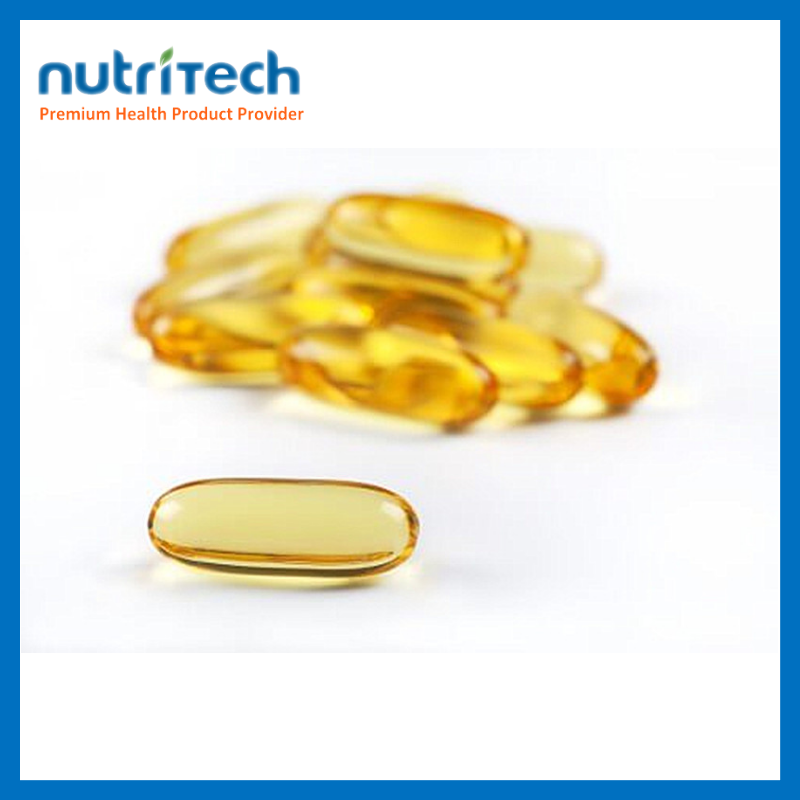 Factory Price GMP Approved Nature Fish Oil Capsules Benefits
