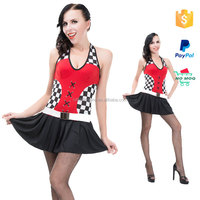 Drop Ship Tennis Cheap Lady Sexy Sports Costumes