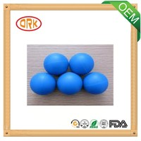 colored NBR waterproof rubber ball