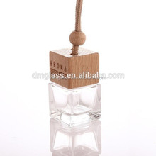 5ml Color and rose fragrance aroma hanging liquid car perfume air freshener car diffuser bottle