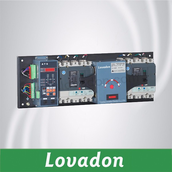 Dual Power NDSA Automatic Transfer Switch with 3p or 4p from 20A to 1600A