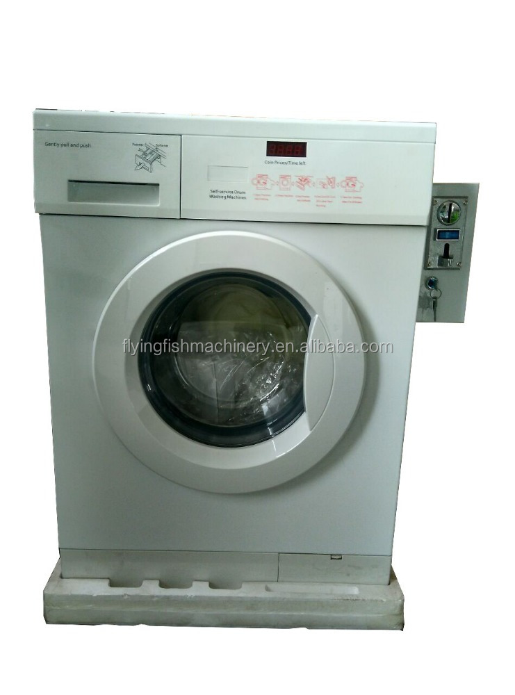 coin/card operated washing machine for family