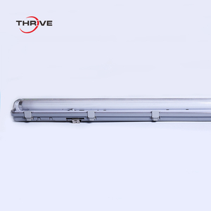 1*58W T8 Tri-Proof IP65 Waterproof Fluorescent Light Fixture for Garage and Supermarket