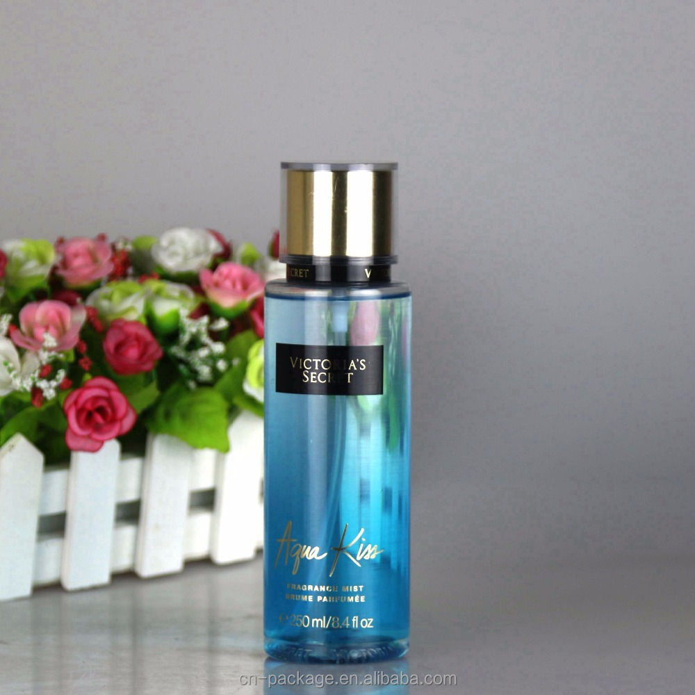 250ml blue plastic bottle for perfume,PET bottle with mist spray pump