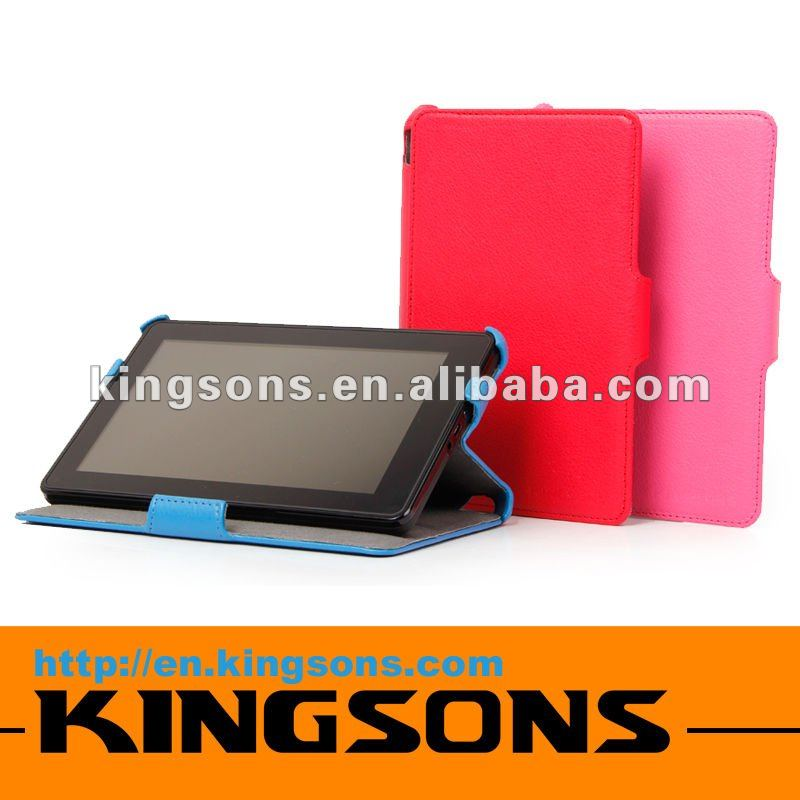 New arrival! model K8405U case for Kindle fire, leather case for kindle fire, fashion case for kindle fire