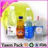 YASONPACKsleeve and roll juice PVC customized plastic shrink label / water bottle shrink label price