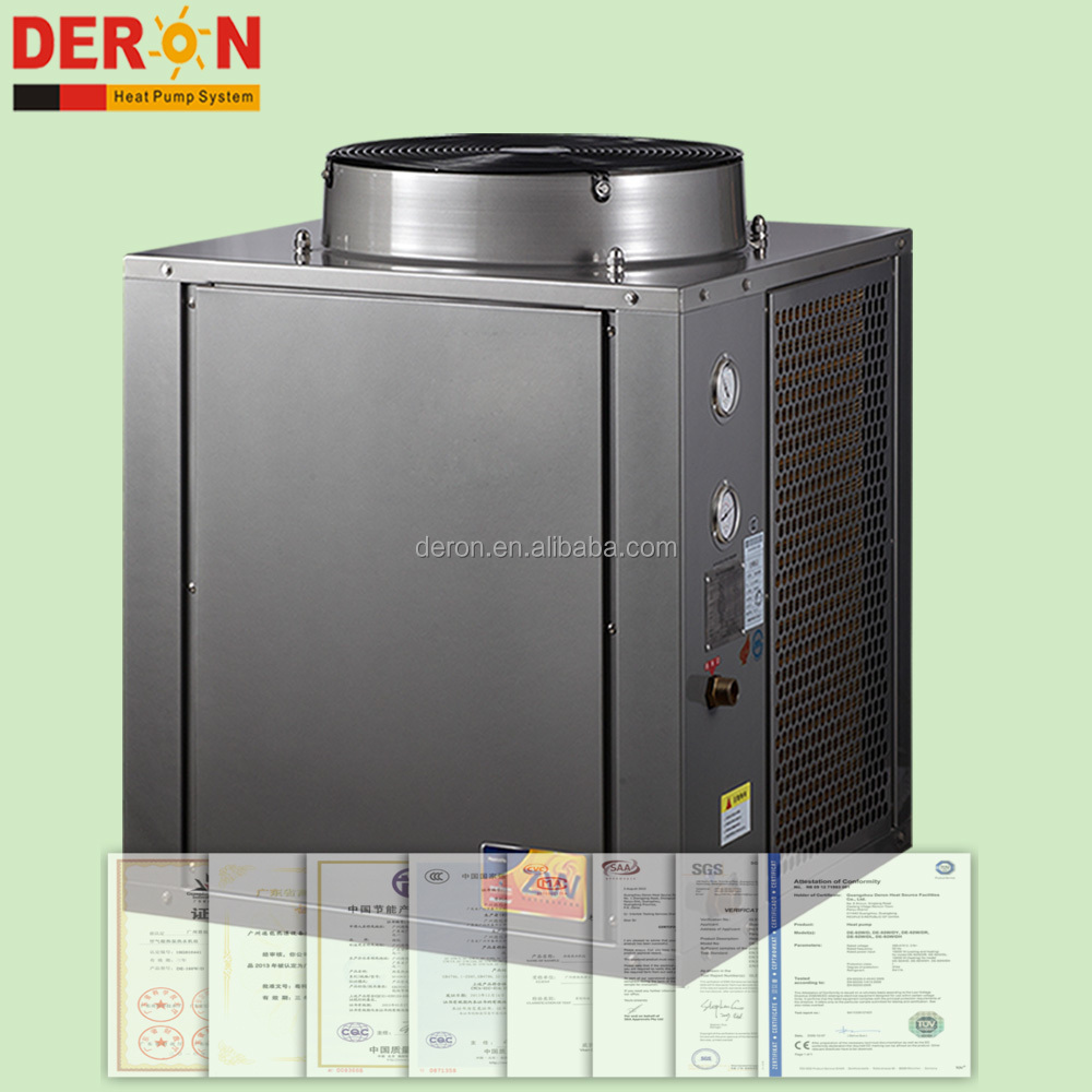 2017 new wholesale China deron heat pump for air to water, heating cooling function with Copeland/ Daikin compressor