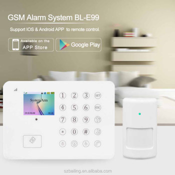 Top Quality Wireless Anti Theft TFT PIR IOS/Android APP Control Home Alarm System