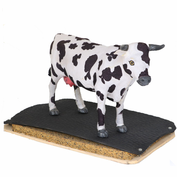 wholesale North American hammer top dairy cows rubber mat for cow comfort