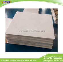 SD 2015 hot sale 100% virgin ptfe sheet in factory price trade assurance cover