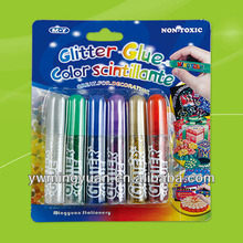 Stationery adhesive shining glitter glue for kids