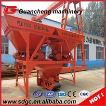 PL1200 concrete batching machine construction equipment , ready mix concrete machine