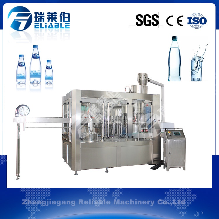 Reliable automatic counter pressure bottle water filler