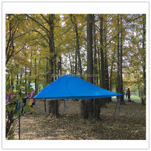 Outdoor camping suspended tent