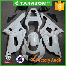 Unpainted ABS Injection Motorcycle Bodywork Fairing Kit for Suzuki GSXR600 GSXR750 01-03