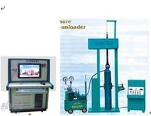 computer controled hydrogen gas Cylinder hydraulic pressure testing equipment/ hydrostatic testing machine