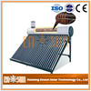 Assured trade heat pipe hot selling great material solar water heater flat panel solar collector