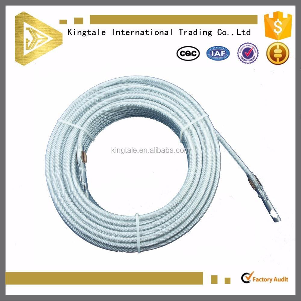 Kingtale:promotional coiled cluth cable/Types of steel cable for sale