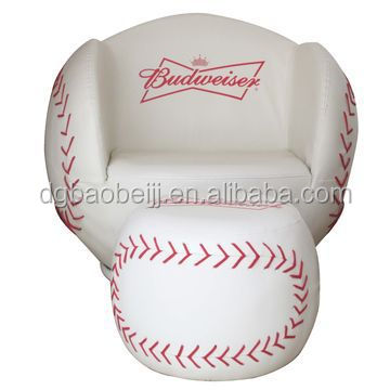 Adult baseball sofa buy baseball sofa sports chair kids Baseball sofa