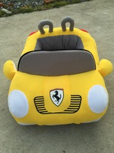 luxury pet dog beds plush car shaped pet bed car shape dog bed