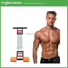 Chest Expander Spring Exercise Workout With Removable Springs Arm And Leg Pulling Exercise