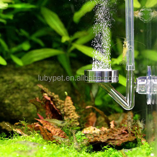 Super silm CO2 diffuser atomizer mini nano aquarium water plant tank