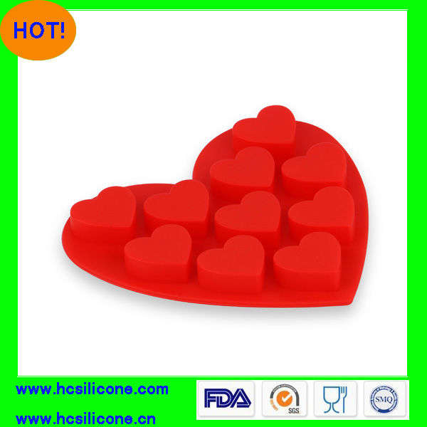 Valentines Silicone Ice Cube Tray