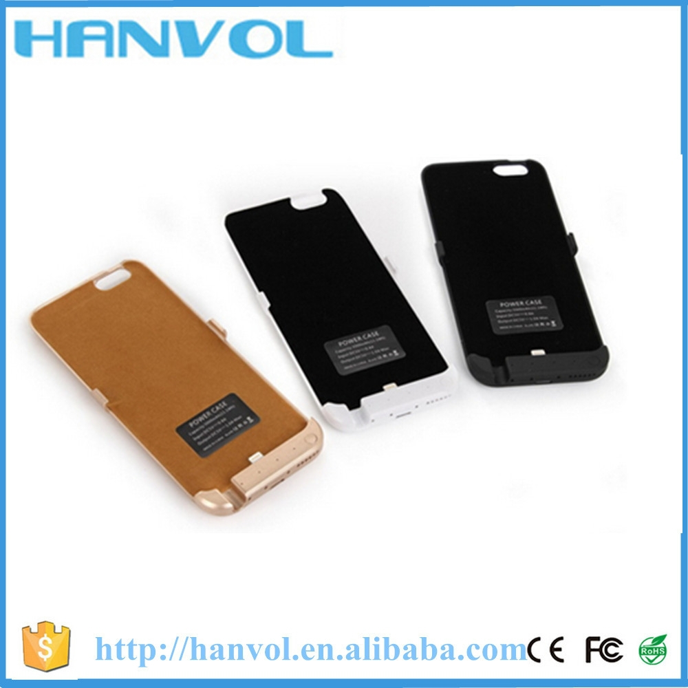 Shenzhen 3000mAh Power bank case,Super Slim portable pcase power bank,power charger case for iPhone 6
