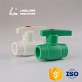 Import China low price plastic manual ppr 90 degree ball valve