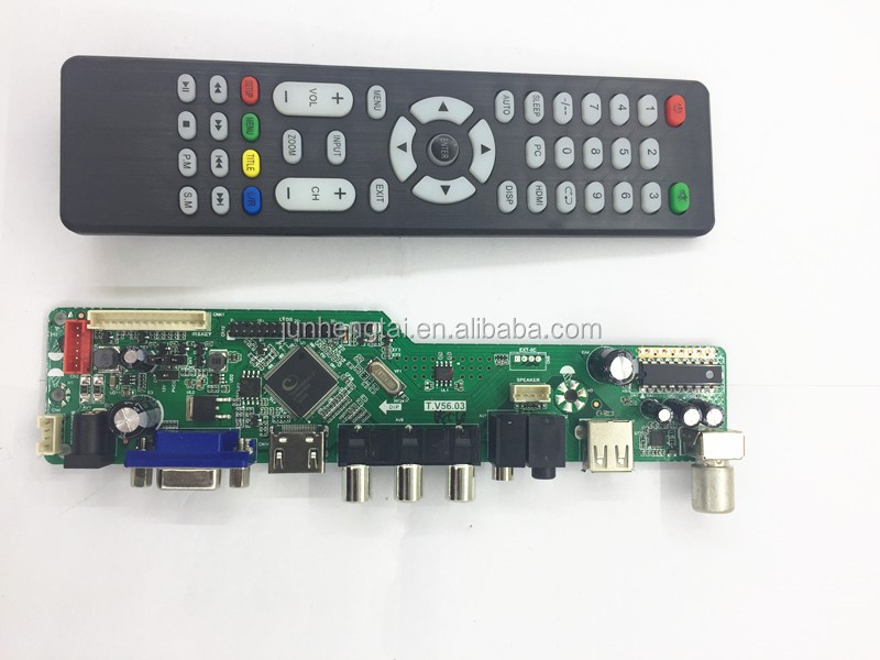 "Universal easy assemble led spare parts control pcb board for 14-32"" led hotel/family tv"