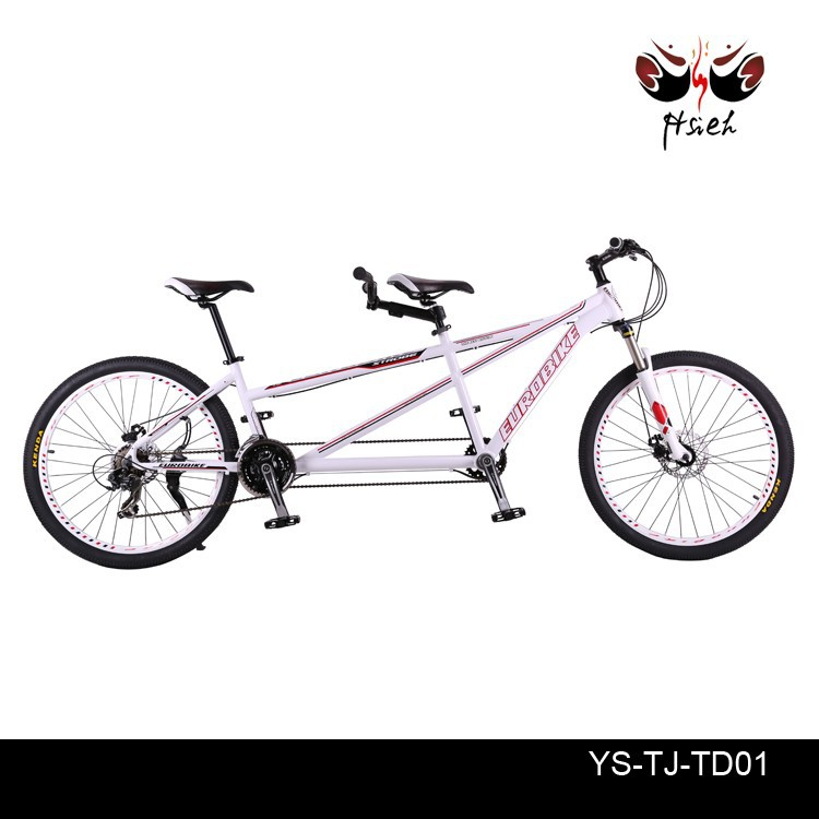 light aluminum alloy 6061 21S or 24S and fork with suspension tandem bike bicycle