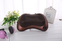 fashion latex sleeping health car and home use massage neck back kneading warming pillow