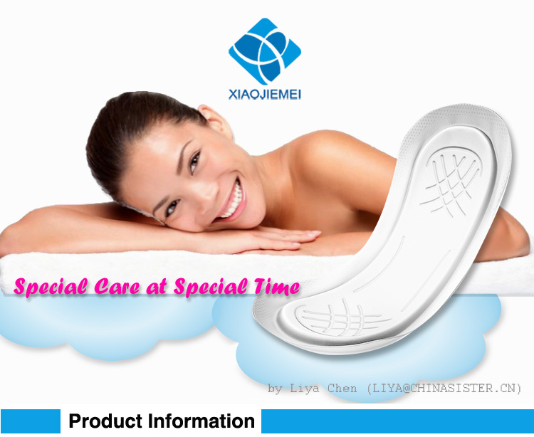 Disposable Maxi Pads lady day use sanitary napkin unscented extra Absorbency menstrual pads without wings