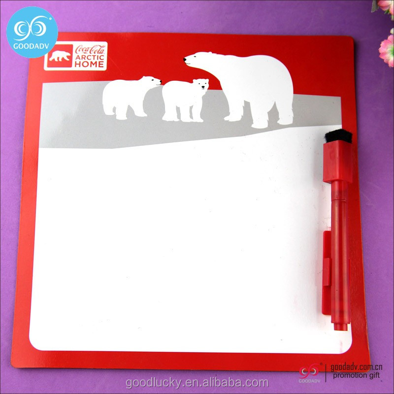 Guangzhou factory low price paper magic drawing board / school notice writing board