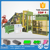 qt10-15 automatic cement hollow block machine price/10-15 block forming production line