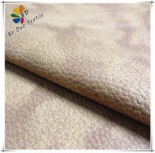 Embossed Suede Sofa Fabric Backing with Polar Fleece/Suede manufacturers