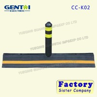 High quality China Factory rubber Traffic Road lane separator