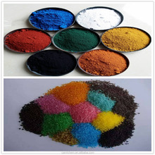 synthetic iron oxide red S130 black 4330 722 pigment powder for coloring npk compound fertilizer