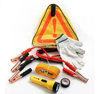 Roadside Auto Safety Kit Car Emergency Kit With Tow Rope