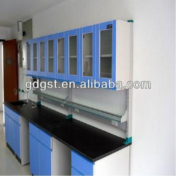 High Quality School Lab All Wood Wall Bench