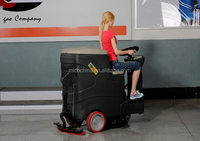 Suitable for large places ride on floor washing cleaning machine