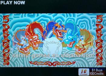 5 dragons slot selection