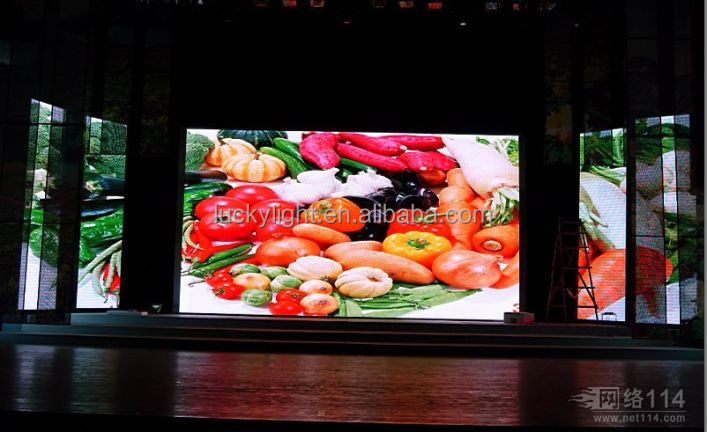 2015 ali hot sale Indoor Fixed Rental High p10 Led Display Xxxx China Music Video